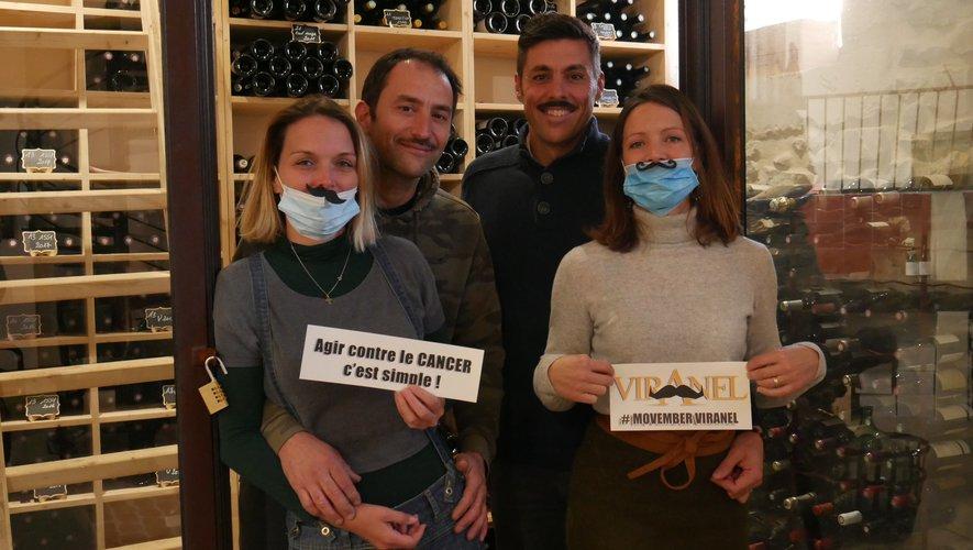 La famille Bergasse de Viranel pour l'opération Movembre