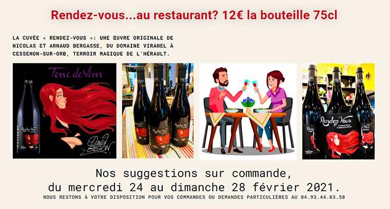 Rendez-vous au restaurant Dante chez Gratta, à Nice !